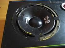Jak naprawić zawieszenie głośnika
