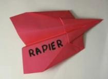 "Jak zrobić samolot typu ""Rapier"""