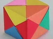 Jak zrobić sześcian ze ściętymi narożnikami z papieru
