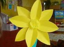 Jak zrobić kwiatka z papieru - Żonkil