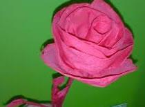 Jak zrobić kwiat róży z papieru