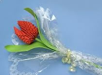 Jak zrobić tulipana origami