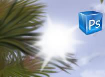 Jak zamazać tło w Photoshopie - promyki światła