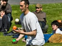 Jak nauczyć się żonglerki piłeczkami #4 - Mills Mess