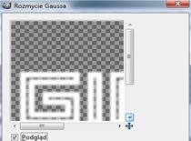 Jak zrobić podświetlany napis w Gimpie