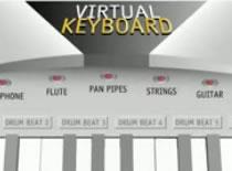 Jak grać na wirtualnym keyboardzie