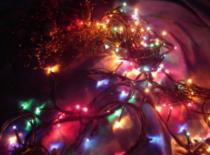 Jak zrobić kolorofon z lampek choinkowych