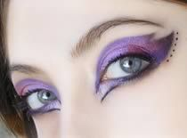 Jak zrobić makijaż na wesele - róż i fiolet