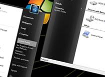 Jak dodać czarny styl do schematu kolorów Windows Xp