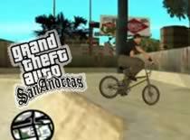 Jak na motorze i bmx robić tricki w GTA SA