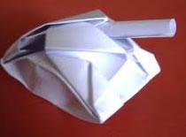 Jak zrobić czołg z papieru