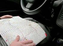 Jak składać mapę samochodową