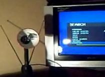Jak zrobić antenę do telewizora z lampy
