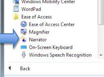 Jak wyłączyć narratora w Windows Vista