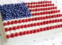Jak zrobić ciasto - amerykańska flaga