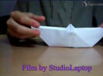 Jak z kartki papieru złożyć statek