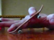 Jak zrobić ollie na fingerboardzie