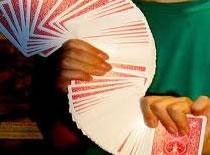 Jak wyszukać kartę - przekręcanie talii
