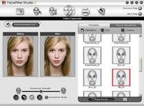 Jak usunąć efekt czerwonych oczu w FaceFilter
