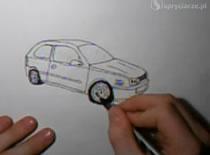 Jak narysować VW Golfa