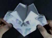 Jak zrobić pudełko w kształcie żonkila