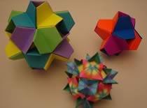Jak zrobić kostkę z papieru - ozdobny sześcian