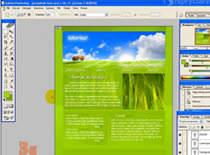 Jak podzielić na części stronę Web w Photoshopie