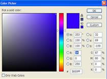 Jak uzyskać ciekawy efekt w Photoshopie z dwóch kolorów