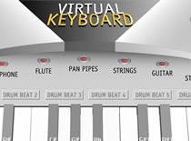 Jak grać na wirtualnym keybordzie - Virtual Keyboard