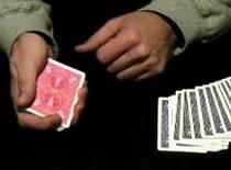 Jak przygotować talię do sztuczki z szukaniem karty