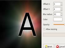 Jak zrobić napis z poświatą