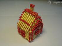 Jak zrobić odlotowy domek z zapałek
