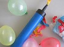 Jak umieścić monetę w nadmuchanym balonie