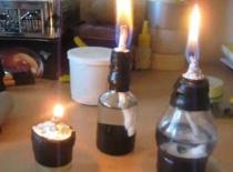 Jak zrobić świeczkę z butelki