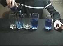 Jak wykonać zakład z pustymi i pełnymi szklankami