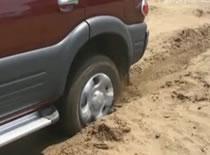 Jak wyjechać samochodem z piasku