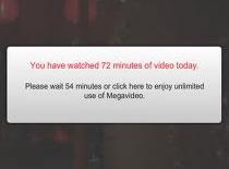 Jak ominąć limit na MegaVideo poprzez ifilmy.net