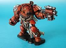 Jak pomalować figurki Terminatorów do Space Hulka