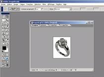 Jak zaokrąglić róg danego obiektu w Adobe ImageReady