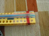 Jak zrobić szybkostrzelną broń z LEGO na gumki