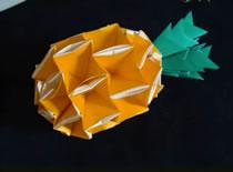 Jak zrobić ananasa - origami modułowe