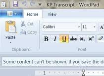 Jak używać edytora Wordpad 2009 z Windowsa 7