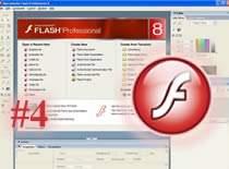 Jak stworzyć animację w Macromedia Flash Professional 8 #4