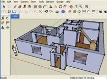 Jak zrobić dom w Google Sketchup