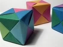 Jak zrobić szkielet pudełka - origami modułowe