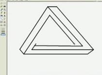 Jak narysować ciekawy trójkąt w MS Paint