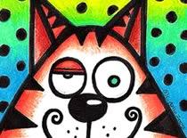 Jak narysować grubego kota w komiksowej wersji
