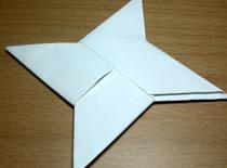 Jak zrobić gwiazdkę Ninja z origami
