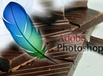 Jak zrobić czekoladowy napis w Photoshop