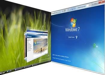 Jak zmienić pasek Windows Vista na pasek z Windows 7